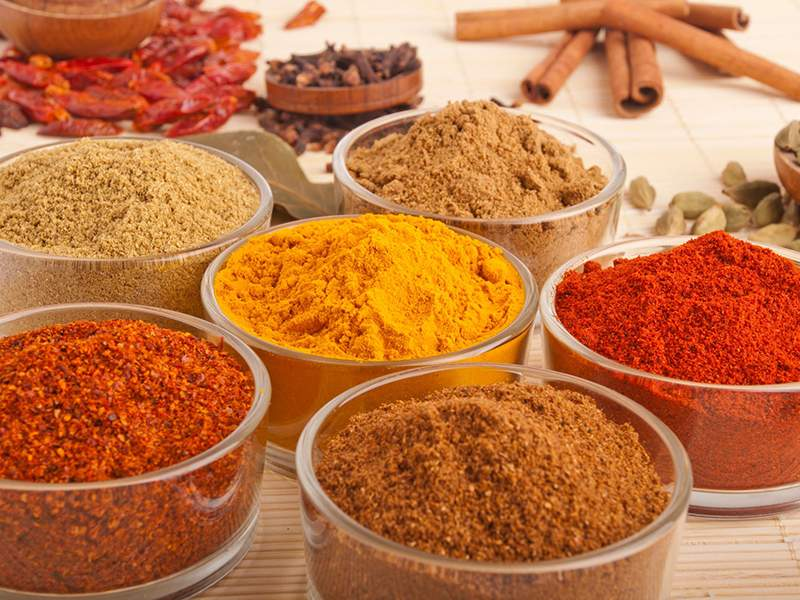 Vegetables, Spices & Starches